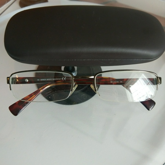 3f51a2459799 Giorgio Armani Accessories - Giorgio Armani eyeglasses frames with case